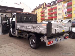 Opel Movano als Kipper