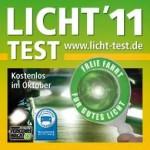 Aufkleber Licht-Test 2011