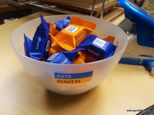 Weihnachtsschokolade von Autoscout24.de