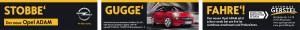 Anzeige Opel Adam in der Pforzheimer Zeitung