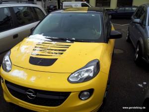 Unser nächster gelieferter Opel Adam SLAM