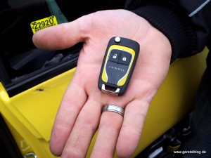 Der Opel-Adam-Schlüssel - bald Ihrer?