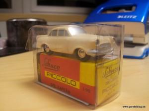 Schuco-Modell eines Opel Kapitän, Maßstab 1:90