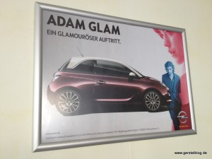 Poster zum Opel Adam Glam