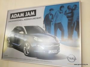 Poster zum Opel Adam Jam