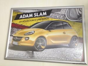 Poster zum Opel Adam Slam
