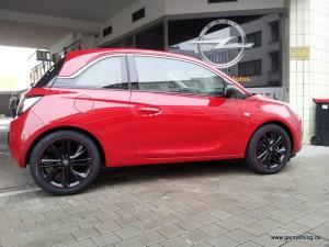 """Opel Adam """"Der rote Blitz"""""""