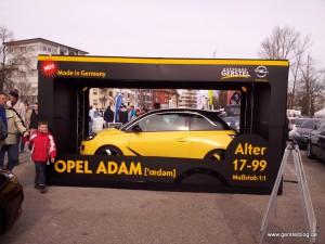 Adam in the Box Vorderansicht