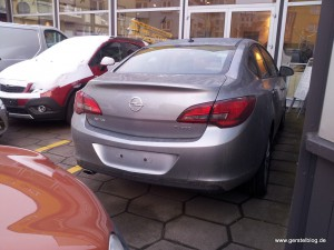 Opel Astra Limousine Rückansicht