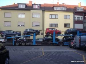 Vier Opel Adam auf einen Streich