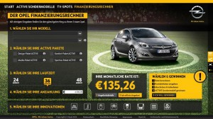 Der Opel Active Finanzierungsrechner