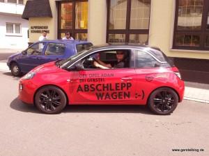 "Der Opel ADAM als ""Abschleppwagen"" :-)"