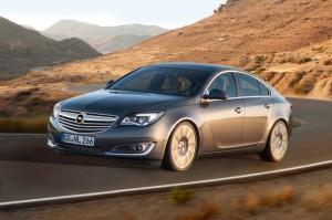 Der neue Opel Insignia - Vorderansicht