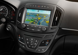 Der neue Opel Insignia - Mittelkonsole