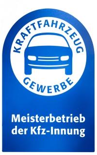 Logo Meisterbetrieb der Kfz-Innung