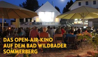 Open-Air-Kino 2013 auf dem Bad Wildbader Sommerberg