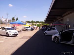 Zweiter E-Mobilitätstag des Motorsportclub Mühlacker