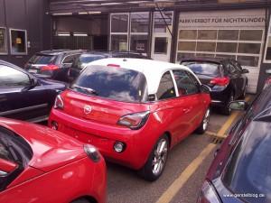 Opel ADAM bi-color rot mit weißem Dach