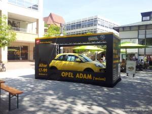 Der Opel ADAM auf dem Pforzheimer Oechslefest 2013