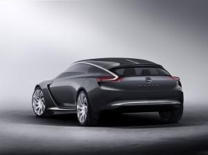 Opel Monza Concept Rückansicht