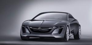 Opel Monza Concept Vorderansicht