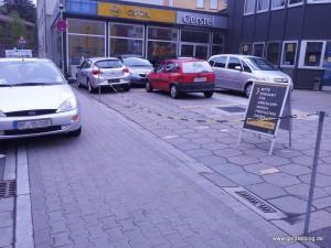 Mißachtetes Parkverbot