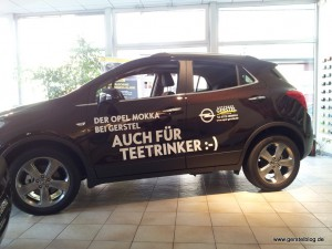 """Opel Mokka - """"Auch für Teetrinker :-)"""""""
