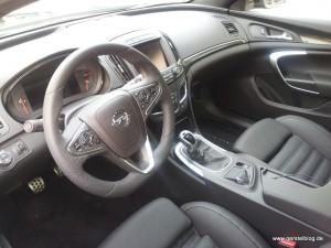Interieur des neuen Opel Insignia