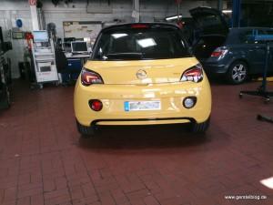 Opel ADAM noch ohne Spurverbreiterung