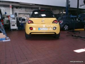 Opel ADAM mit Spurverbreiterung