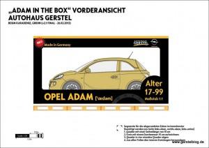 ADAM in the Box Bauplan