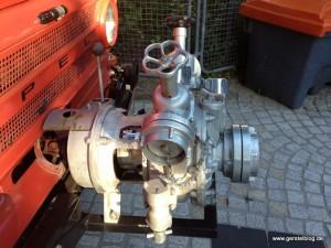 Wasserpumpe des Opel Blitz LF8
