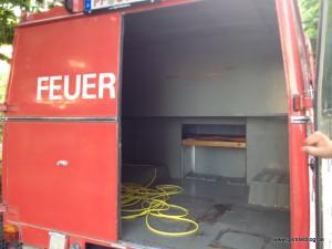 Hinterer Innenraum Opel Blitz LF8