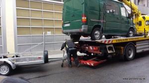 Parken mit Anhänger im Halteverbot