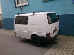 Ein Anhänger aus einem Volkswagen T4