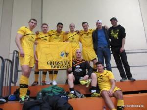 Team der Goldstadt Borussen im Gerstel-Trikot