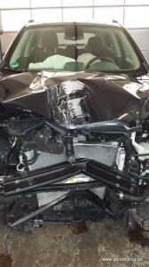 Verunfallter Opel Mokka