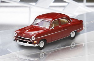 Opel Kapitän '54 Modellfahrzeug von Brekina