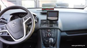 Taxi-Vorrichtungen in einem Opel Meriva