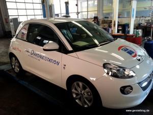 Opel ADAM mit Kundenbeklebung
