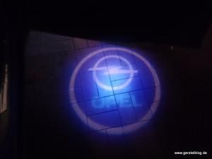 Opel-Tür-Wegebeleuchtung