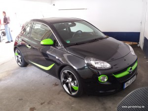 "Opel ADAM ""Neo-Green"" by Gerstel"