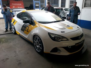Opel Astra OPC Cup-Version
