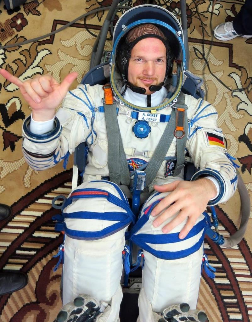 Astronaut Alexander Gerst (© ESA)