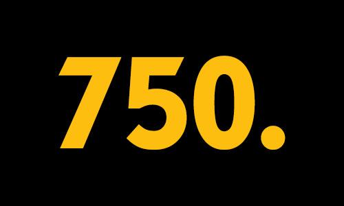 Der 750. Artikel