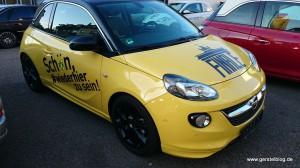 Der BVB-Finale-Opel ADAM