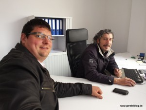 Timo Gerstel und Ismail Şahiner
