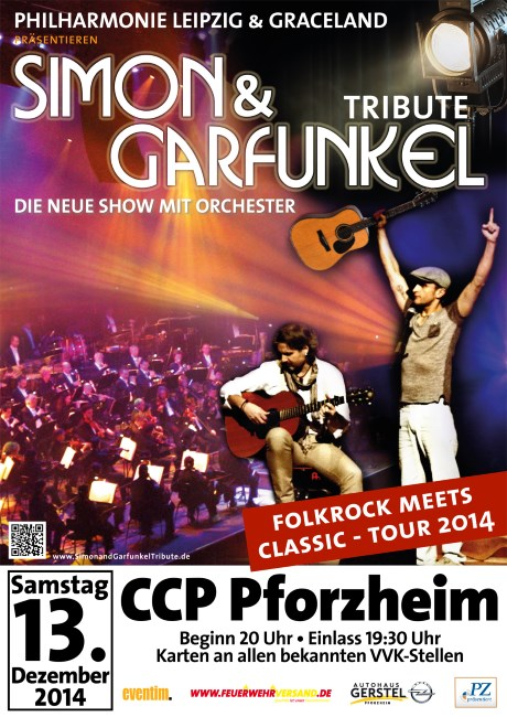 Simon & Garfunkel Tribute 2014