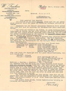 Lobeshymne von W. Truckses zum Horch 8 aus dem Jahre 1928