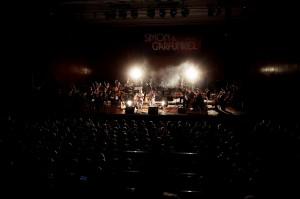 Bühnenansicht Simon & Garfunkel Tribute Concert 2014 im CCP Pforzheim